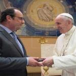 El Papa y Hollande conversan en privado sobre terrorismo en el Vaticano