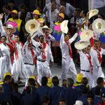 Así fue el paso de la delegación peruana en inauguración de JJOO (FOTOS)