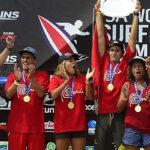 Perú se corona campeón mundial de surf en Costa Rica