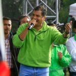 Rafael Correa agradece campaña para reelección, pero la descarta