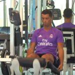 Cristiano Ronaldo se reincorpora al Real Madrid tras largas vacaciones (VIDEOS)