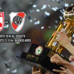 Recopa Sudamericana: Dirimen título River Plate e Independiente Santa Fe