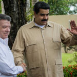 Venezuela: Santos y Maduro inician reunión programada en Macagua
