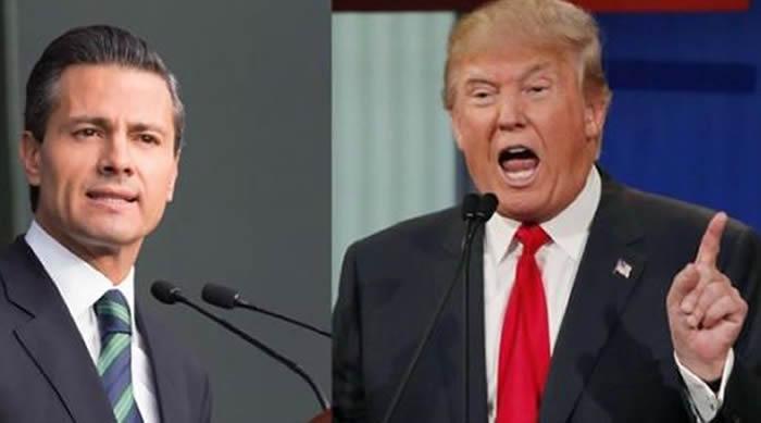 México no pagará por el muro: Peña Nieto