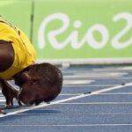 """Bolt: """"Intento ser uno de los más grandes, estar junto a Alí y Pele"""""""