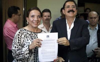 Xiomara Castro-esposa Zelaya