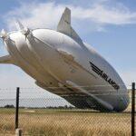 La aeronave más grande del mundo se estrella en Inglaterra