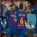 Barcelona derrota al Sevilla por la Supercopa de España