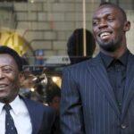 """""""Rey"""" Pelé coloca a Usain Bolt por encima de su propia leyenda"""