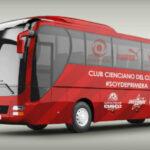 Segunda División: Cienciano ya tiene su bus propio