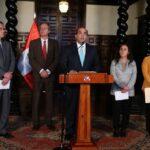 Poder Ejecutivo convoca de urgencia al Consejo de Seguridad Ciudadana (VIDEO)