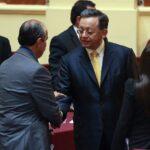 Contralor Edgard Alarcón se presentó ante Comisión de Fiscalización