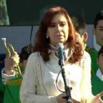 Cristina Fernández en campaña: Quiero ser militante con el pueblo (VIDEO)