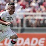 Christian Cueva anota el empate de Sao Paulo ante Internacional