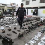 Policía Nacional recuperó 2,200 autopartes robadas (VIDEO)