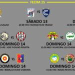 Segunda División: Programación, hora y escenarios de la fecha 15