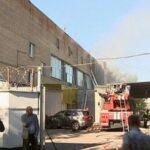 Incendio causa al menos 17 muertes en un almacén de Moscú