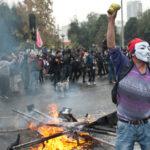 Chile: 51 detenidos y 7 policías heridos por disturbios en marcha estudiantil