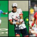 Río 2016: Murray, Del Potro y Nadal sueñan por el oro olímpico
