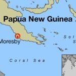 Terremoto de 6.7 grados sacude el noreste de Papúa Nueva Guinea