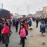 Lima Norte: Paro de transporte público afecta a usuarios