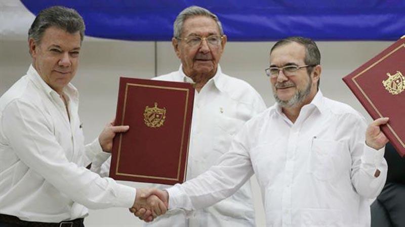 Colombia: Presidente Santos anuncia cese el fuego bilateral y definitivo