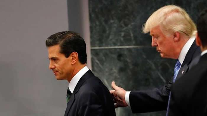 Trump insiste en construir un muro en la frontera con México