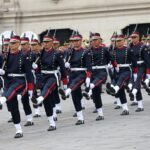 Palacio de Gobierno: Policía Nacional realizó tradicional Cambio de Guardia