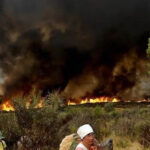 Portugal en alerta ante gigantesca cadena de incendios forestales (VIDEO)