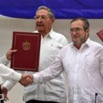 Gobierno colombiano y las FARC cierran negociaciones y anuncian acuerdo de paz