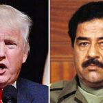 Donald Trump: Fue un error invadir Irak y derrocar a Saddam Hussein