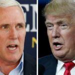 EEUU: Pence se desmarca de Trump y apoya al presidente de la Cámara Baja