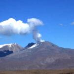 Ingemmet: Volcán Sabancaya registró últimamente 76 explosiones diarias