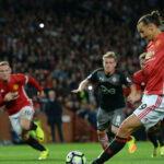 Premiere League: Zlatan Ibrahimovic inspirado anota en victoria de Manchester United