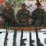 Vraem: FFAA incautan armas y explosivos de narcoterroristas