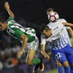 Liga Santander: Real Betis en la sexta jornada derrota por 1-0 al Málaga