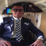 España: Avión de Cristiano Ronaldo se despistó en pleno aterrizaje