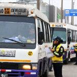 Envían al depósito más de 350 vehículos informales del Corredor Javier Prado