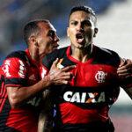 Paolo Guerrero anota un golazo en triunfo del Flamengo 2-1 a Cruzeiro