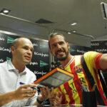 Andrés Iniesta presentó su libro autobiográfico 'El Partido de mi vida'
