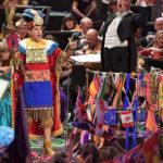 Juan Diego Flórez cautivó en Londres con presentación vestido de inca (VIDEOS)