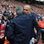 Premier League: Mira el saludo entre José Mourinho y Pep Guardiola (VIDEOS)