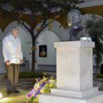 Colombia: Raúl Castro visita claustro en donde reposan las cenizas de Gabo