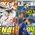 Chile: El Grafico comenta los titulares de diarios deportivos peruanos sobre la lesión de Messi