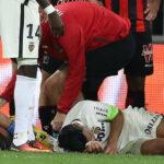 Radamel Falcao de malas: termina en el hospital tras clásico francés
