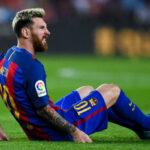 Liga Santander: Lionel Messi con vómitos no jugó contra el Málaga