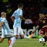 Argentina rescata un empate 2-2 en Mérida ante Venezuela
