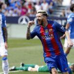 Barcelona aplasta 5 a 1 al Leganés con dos goles de Lionel Messi (VIDEO)