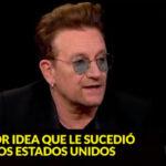 Cantante Bono advierte que Donald Trump puede destruir a EEUU (VIDEO)