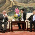 Kuczynski se reunió con presidente de Asamblea Popular Nacional de China